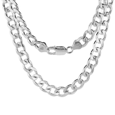 Plain Cuban Link Necklace