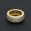 Ice Tray's Gold/Silver Iced Out Micro Pave Rings