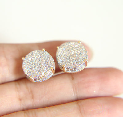 Ice Tray's Iced Out Disc Earring