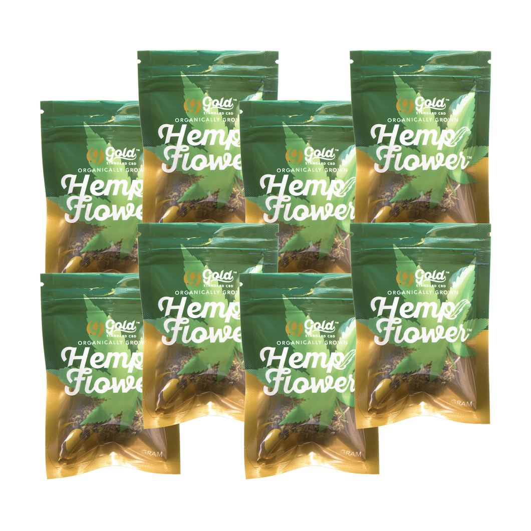 CBD Hemp Flower 1G Bundle -8 Strains