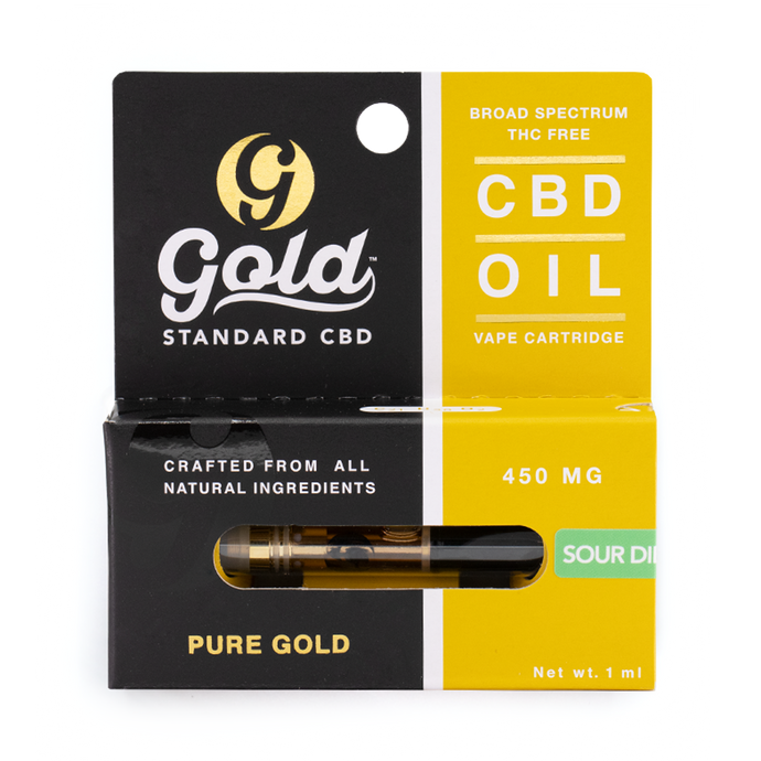 450mg CBD Vape Cartridge