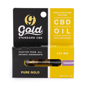 "450mg CBD Vape Cartridge ""TRAINWRECK"""