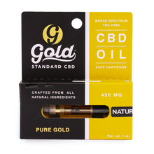 "450mg CBD Vape Cartridge ""NATURAL"""