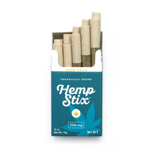 750mg Hemp Stix MINT Carton - 12 Packs