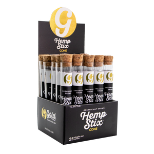 Case of 150mg Hemp Stix CONE (Qty. 25)
