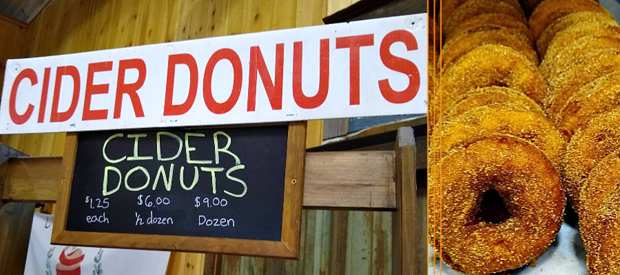 Apple Cider Doughnuts Have a Natural Fall Appeal