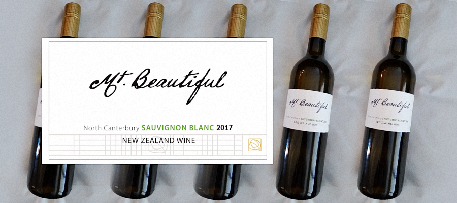 Wine Review - Mt. Beautiful Sauvignon Blanc