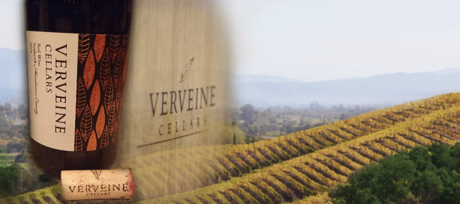 Wine Review - Verveine Cellars 2015 Red Blend