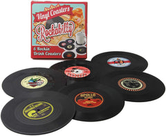Retro-Vinyl-Disc-Coasters