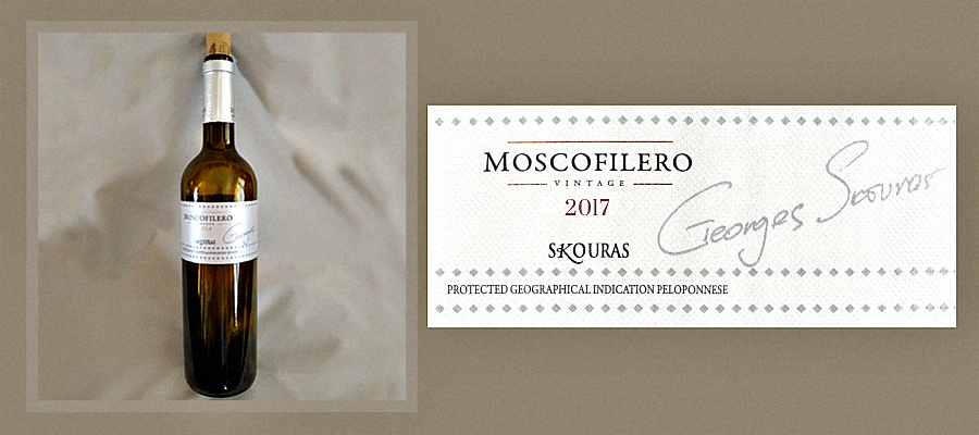 Review Skouras Moscofilero Wine