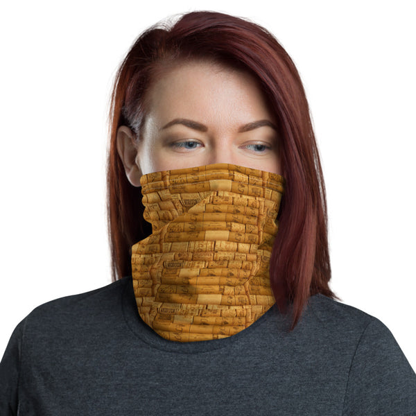 Wine Corks - Neck Gaiter Headband Face Sheild
