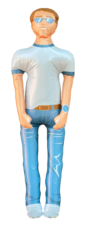 Man Akin: inflatable talking husband boyfriend (like a guy, but easier)