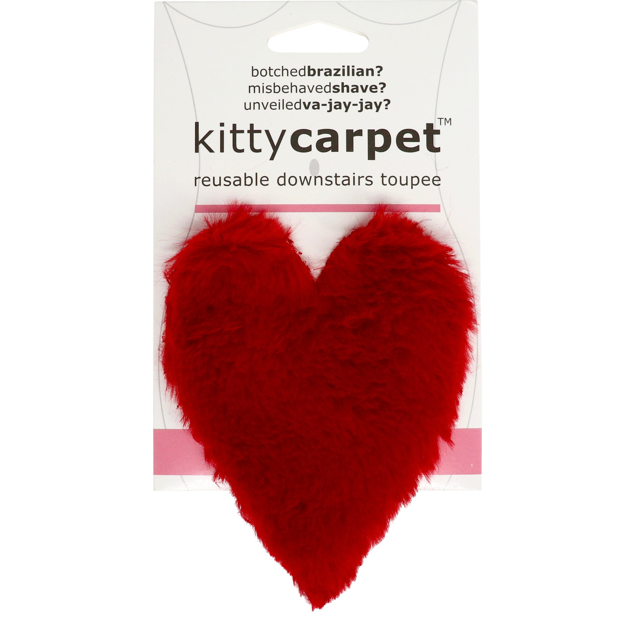 Kitty Carpet Reusable Female Merkin Downstairs Toupee Pubic Wig Fun Delivery