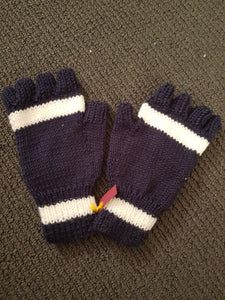 Knitted Ladies Fingerless Gloves