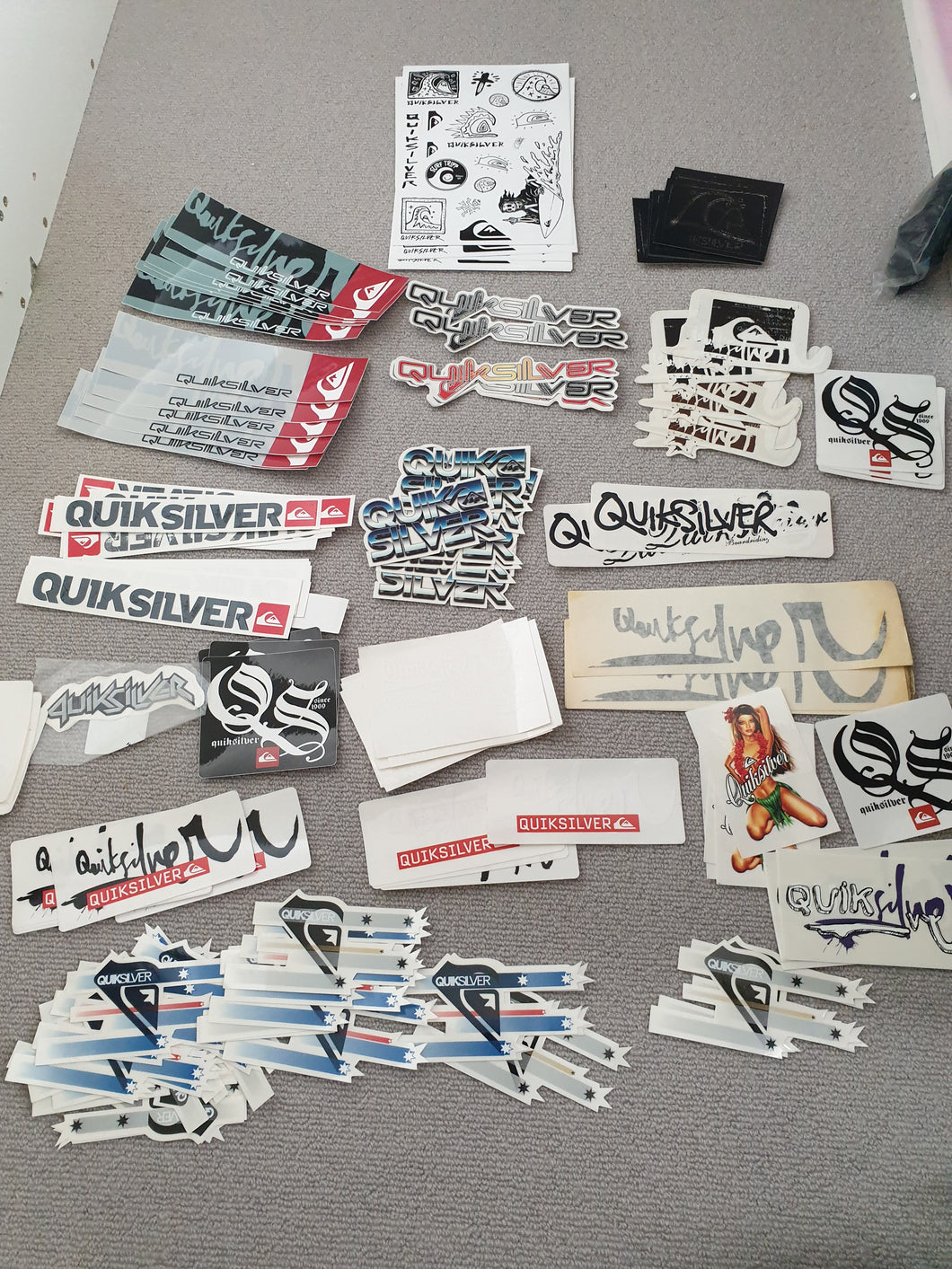 Quiksilver Sticker