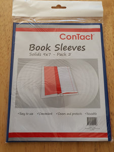 Book Sleeves 9 x 7 Pack of 5