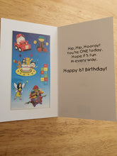 Play School 1st Birthday Card