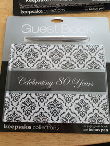 Guest Book Birthday