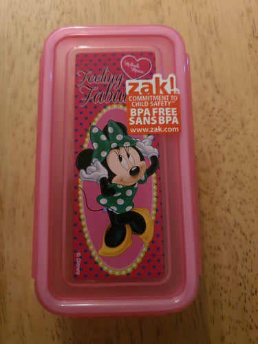 Minnie Mouse Snack Container
