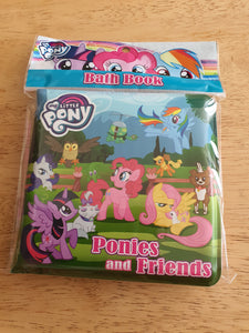 My Little Pony Bath Book