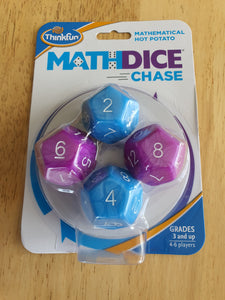 Think Fun Maths Dice Chase Game