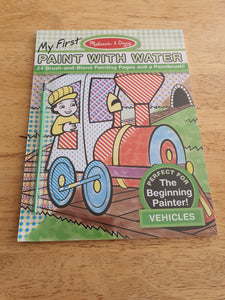 Melissa & Doug - My First Paint With Water - Vehicles