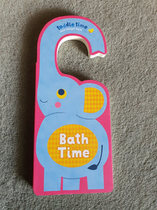 Bath Time Door Hanger Book