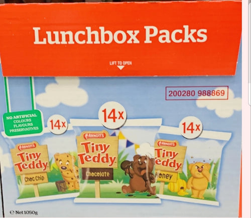 Tiny Teddy 42 Packs