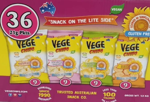 Vege Chips 36 Packets