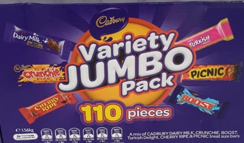 Variety Jumbo Pack 110 Pieces