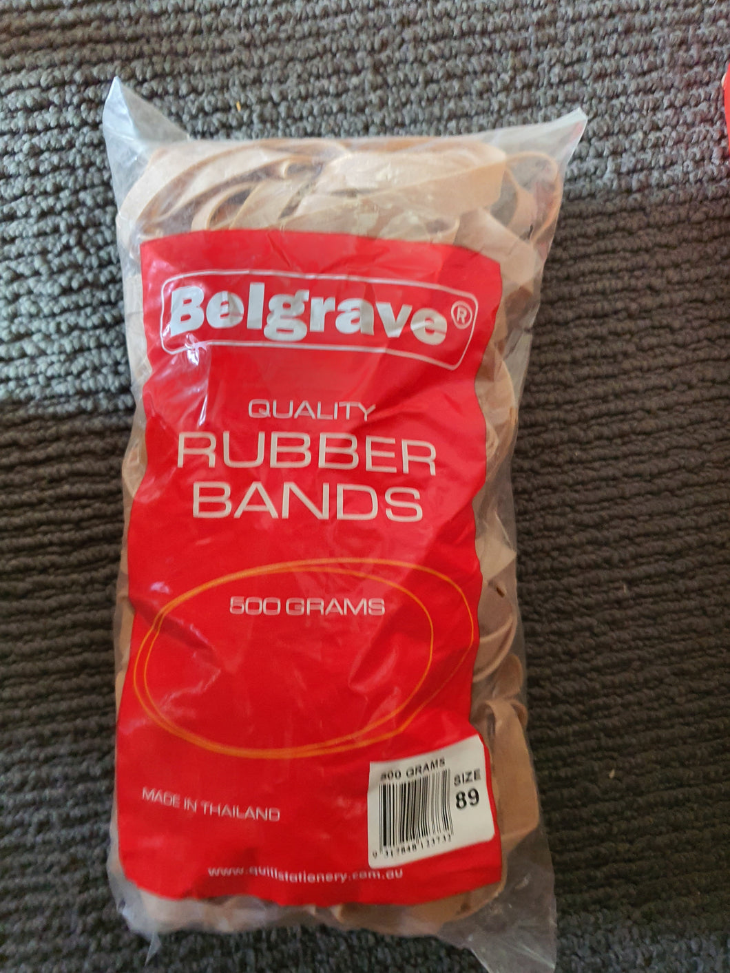 Belgrave size 89 Rubber Bands 500 grams