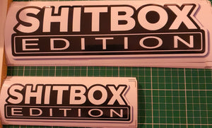 Shitbox Edition Sticker