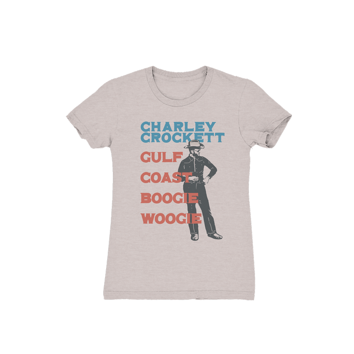 Gulf Coast Boogie Woogie Ladies T-Shirt