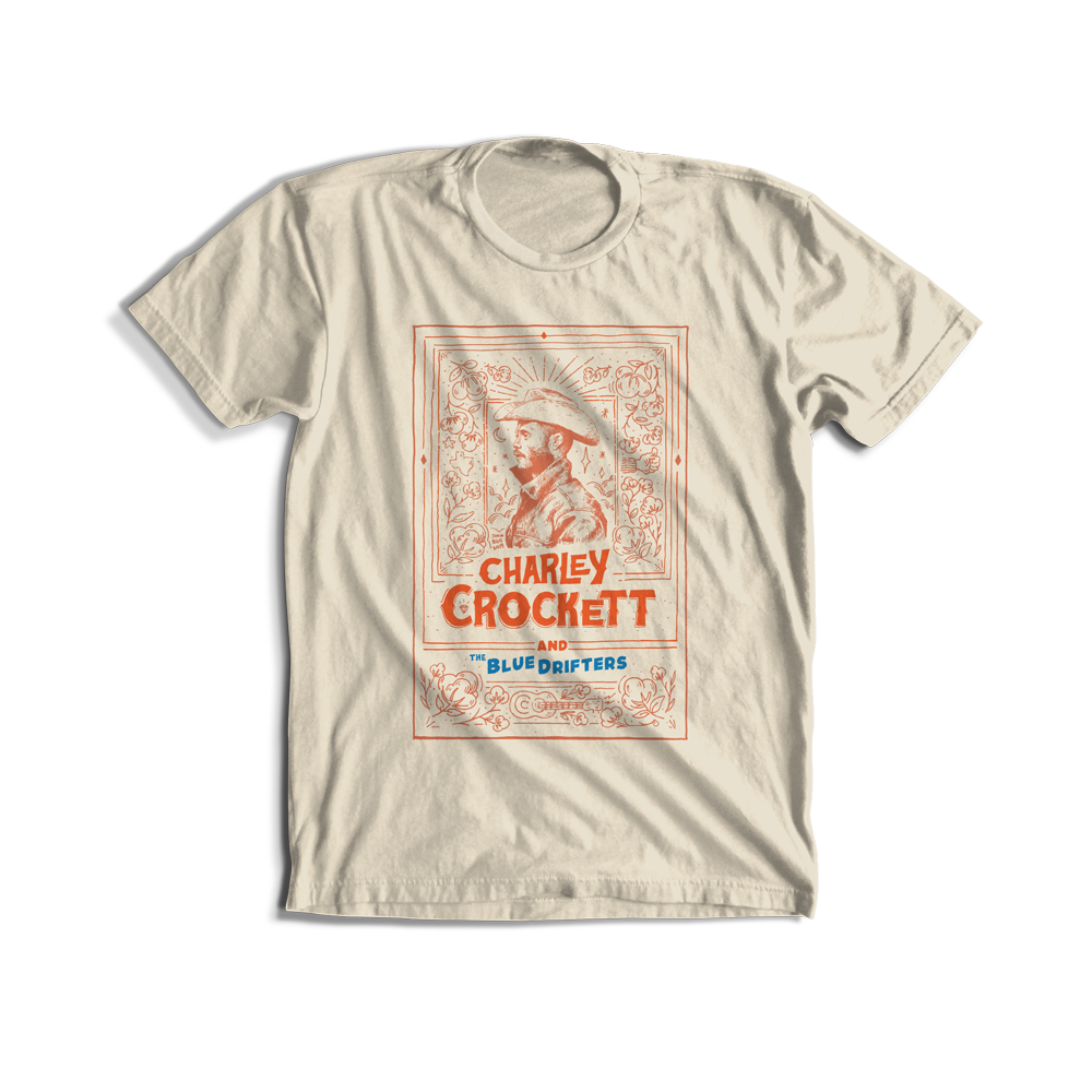 Joonbug Charley Crockett & The Blue Drifters T-Shirt