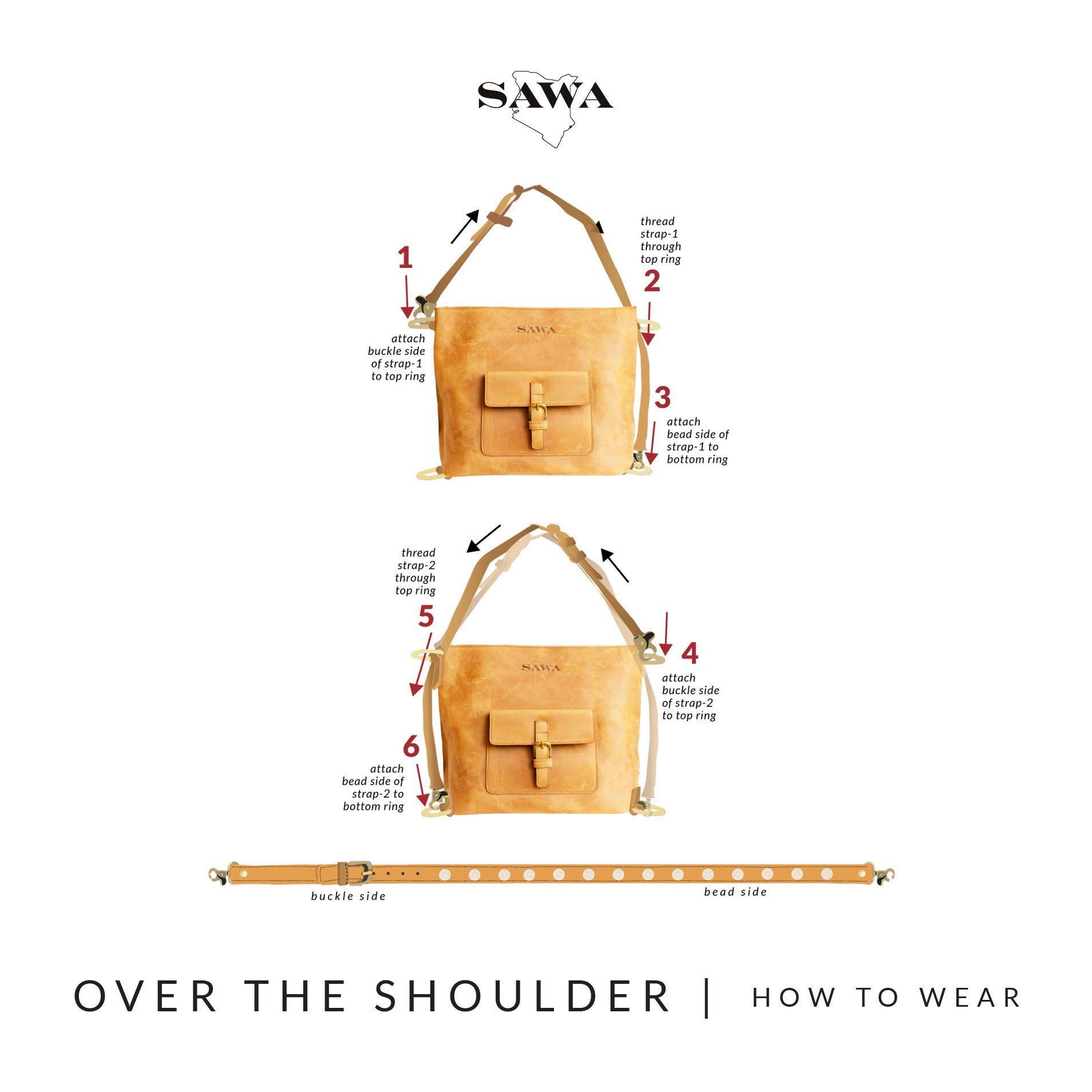 Over The Shoulder / Handbag Instructions