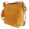Camel Leather Convertible Bag,Convertible Bag/Backpack - thesawashop