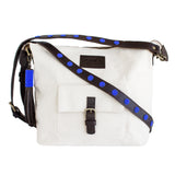 White Canvas Convertible bag