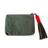 Safari Green Canvas Pouch,Pouch - thesawashop