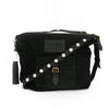 Black Canvas Convertible Travel Bag
