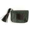 Safari Green Canvas Pouch