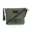 Safari Green Canvas Convertible Travel Bag