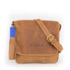 Camel Leather Convertible Everyday Bag