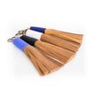 Camel Leather Tassels