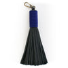Black Leather Tassels