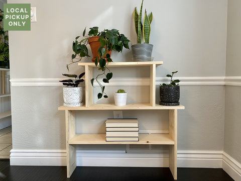 3 Wide Plant Stand Without Trellis
