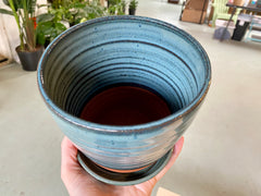 "5"" Glazed Planter"