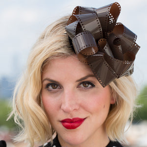 Film Fantasia fascinator - AnneDePasquale