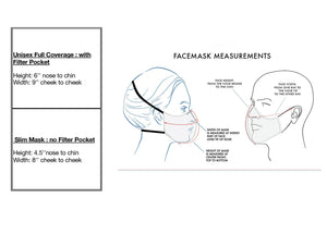 Black Face Mask with Veiling - AnneDePasquale