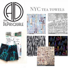Load image into Gallery viewer, New York City tea towels