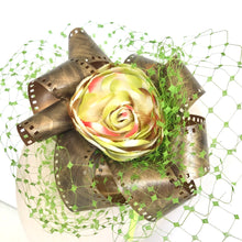 Load image into Gallery viewer, Birdcage Film Fascinator - AnneDePasquale